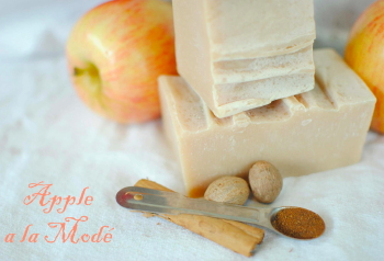 Apple Alamode Goat Milk Soap