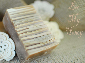 Bee My Honey Goat Milk Soap