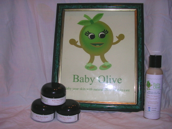 Baby Olive Shampoo and Bum Balm