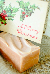 Gingerbread Cookies Goat Milk Soap