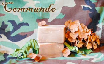 Commando Goat Milk Soap