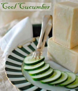Cool Cucumber Goat Milk Soap