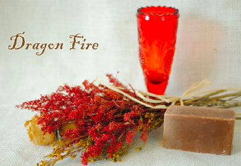 Dragon Fire Goat Milk Soap