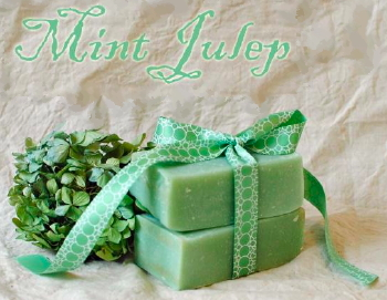 Mint Julep Goat Milk Soap