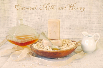 Oatmeal Milk n' Honey Goat Milk Soap