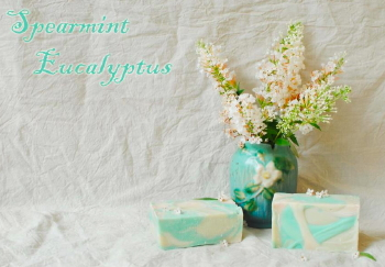 Spearmint-Eucalyptus Goat Milk Soap